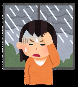 お天気頭痛